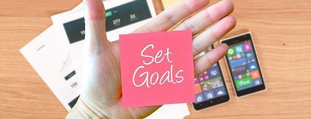 Setz dir Ziele